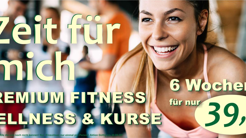 Zeit für mich – Premium Fitness Wellness & Kurse